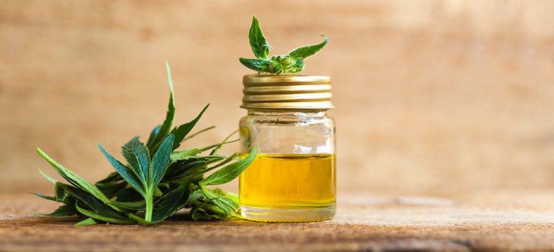 CBD oil in patients