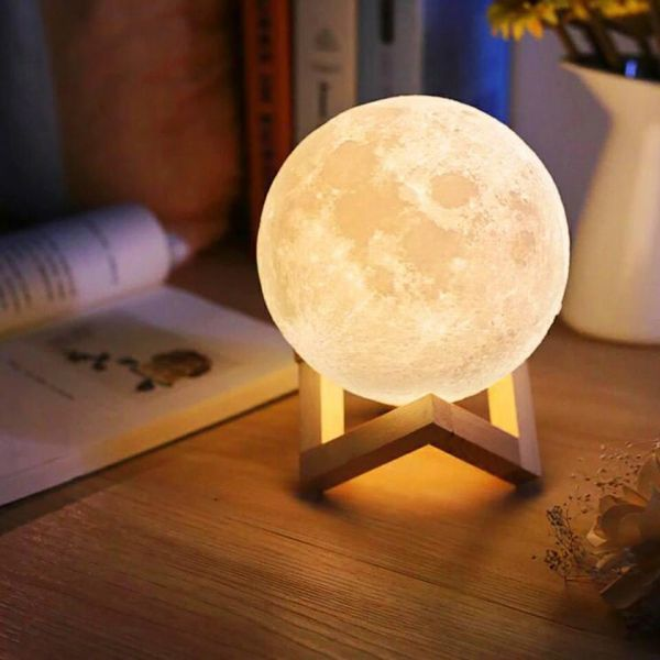 Moon Lamp with Photo